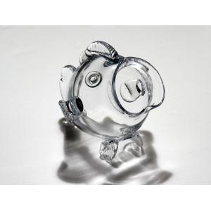 手作りガラス 硝子【金魚鉢】おさかな金魚鉢クリア|yojigon