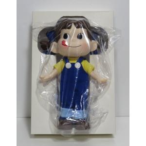 ペコちゃんの青服で、29cm人形は希少品です 懸賞当選品です。 前髪に製造時の塗りムラがあります。 ...