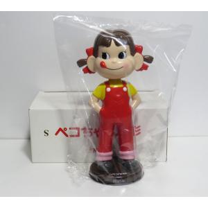 不二家ペコちゃん 首振り人形(茶台)|yojigon