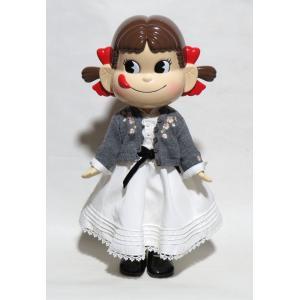 不二家 ペコちゃん Sweet Pure Dress 丸山敬太赤いケース入り(初代)|yojigon