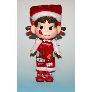 不二家   セブンイレブンペコちゃん人形2009「ハッピークリスマス)|yojigon