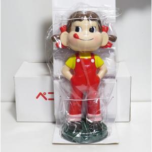 不二家ペコちゃん 首振り人形(濃い緑台)|yojigon