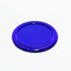 琉球ガラス コースター 青色 yojigon