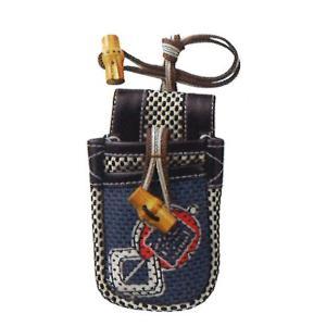 職人道楽 刺子携帯袋 小物入れ デジカメケース タバコ yojo