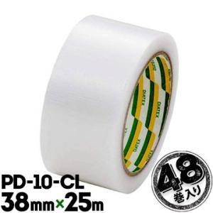 ダイヤテックス パイオラン PD-10-CL プラダン封緘用テープ 38mm×25m 48巻 yojo