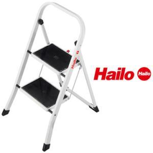 ハイロ社Hailo脚立 K-20 2段 軽量おしゃれカラーステップ|yojo