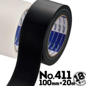 古藤 furuto 片面防水気密テープ No.411 100mm×20m 18巻 半透明/黒 断熱材 各種ボード 透湿防水シートの防水 サッシ廻りの防水|yojo
