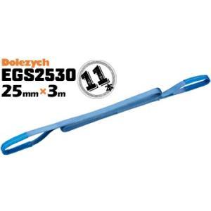 Dolezych社 ドイツ製 ベルトスリング EGS2530 11本 ベルト幅25mm 長さ3m 両端アイ型 スリングベルト 重量物の吊り下げに webbing sling eye-slings web sling|yojo