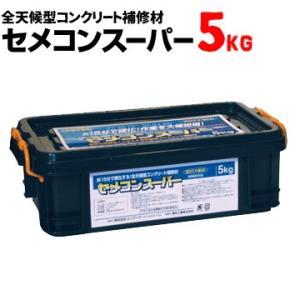 ユニテック セメコンスーパー 5kg 速乾セメント コンクリート補修材|yojo