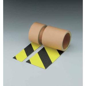 蛍光ノンスリップテープ 0.69mm厚×50mm巾×3m 黄/黒 3巻 安全標示テープ yojo