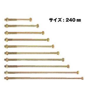 カネシン PZ六角ボルト 【1ケース/100個入】 PZ-M12×240