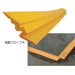 段差スロープA 敷き鉄板用 4枚セット  幅155mmX長さ1500mm   敷板 段差 スロープ|yojo