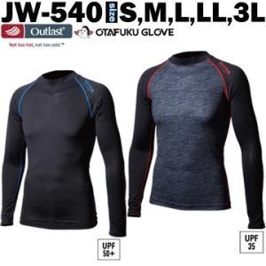 クルーネックシャツ メンズ JW-540 オーバーザファンクション コンプレッションウェア インナーウェア アンダーウェア|yojo