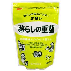 ミヨシ石鹸 暮らしの重曹 600g|yoka1