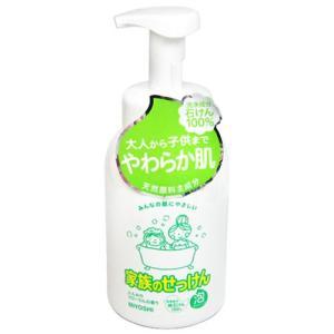 ミヨシ石鹸 家族のせっけん 泡ボディソープ 600mL|yoka1