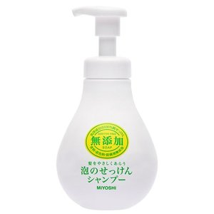 ミヨシ石鹸 無添加 泡のせっけんシャンプー 500mL|yoka1