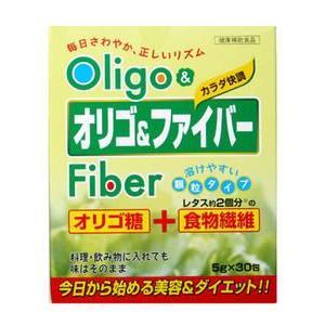 今日から始める美容&ダイエット! オリゴ&ファイバー 5gX30包|yoka1