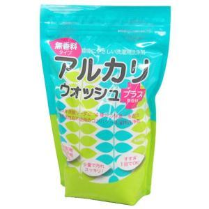 地の塩社 アルカリウォッシュプラス 無香料タイプ 600g|yoka1