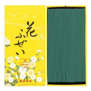 カメヤマ 花ふぜい 黄 白檀の香り|yoka1