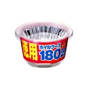 東洋アルミエコープロダクツ 合紙なし 徳用ホイルケース 6号 180枚入|yoka1