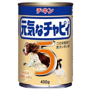 元気なチャピィ チキン 400g [ドッグフード] yoka1