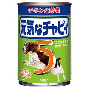 元気なチャピィ チキンと野菜 400g [ドッグフード]|yoka1