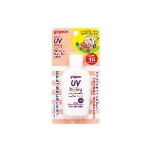 ピジョン UVベビーウォーターミルク SPF15 PA++ 日焼け止め乳液 顔・からだ用 60g|yoka1