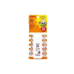 ピジョン UVベビーウォーターミルク SPF25 PA++ 日焼け止め乳液 顔・からだ用 30g 【ピジョン】|yoka1