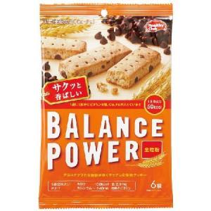 バランスパワー 全粒粉 6袋(12本) [栄養機能食品(Ca・Fe)]|yoka1