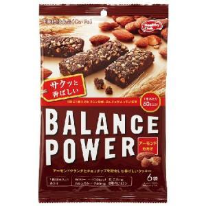 バランスパワー アーモンドカカオ 6袋(12本入) [栄養機能食品(Ca・Fe)]|yoka1