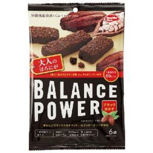 バランスパワー ブラックカカオ 6袋(12本入) [栄養機能食品(Ca・Fe)]