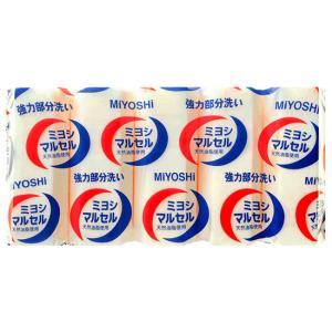 ミヨシ石鹸 マルセルせっけん 140gx5個|yoka1