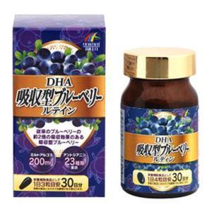 DHA吸収型ブルーベリールテイン 90粒|yoka1
