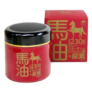 馬油クリーム+尿素 モイストクリームEX 230g|yoka1