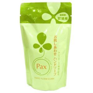 太陽油脂 パックス お肌しあわせ ハンドソープ 詰替用300ml|yoka1