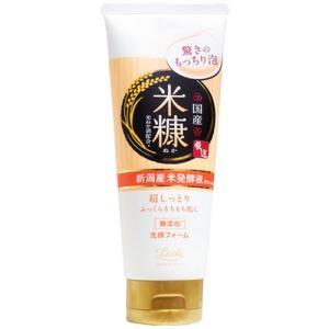 ロッシモイストエイド 国産ホイップ洗顔K コメヌカ 120g|yoka1