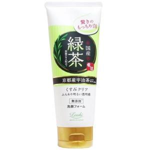 ロッシモイストエイド 国産ホイップ洗顔R 緑茶 120g|yoka1