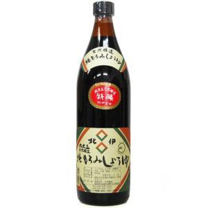 北伊醤油 丸大豆天燃醸造 純もろみしょうゆ 特醸 900ml|yoka1
