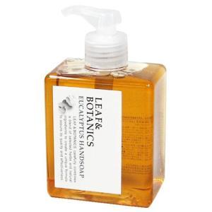 松山油脂 LEAF&BOTANICS ハンドソープ EU ユーカリの香り  置くだけでオシャ...