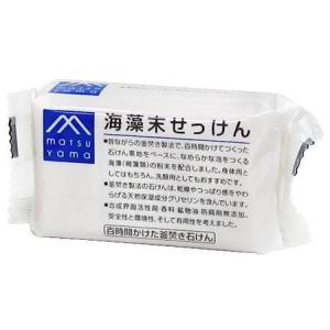 松山油脂 Mマーク 海藻末せっけん 100g|yoka1