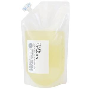 松山油脂 リーフ&ボタニクス ハンドソープ グレープフルーツ 大型詰替用 900mL|yoka1