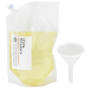 松山油脂 リーフ&ボタニクス ハンドソープ グレープフルーツ 大型詰替用 2.7L(ロート付き) GL|yoka1