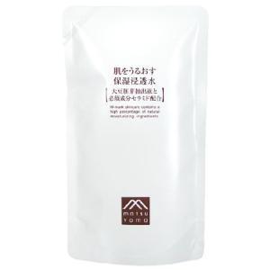 松山油脂 肌をうるおす 保湿浸透水 詰替用110ml 化粧水