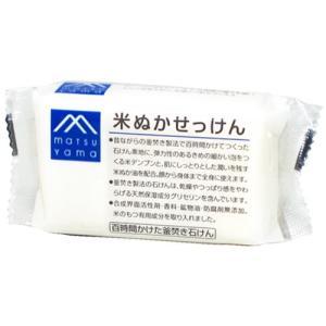 松山油脂 Mマーク 米ぬかせっけん 100g|yoka1