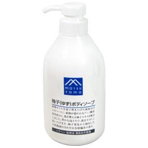 松山油脂 Mマーク 柚子(ゆず)ボディソープ 480mL|yoka1