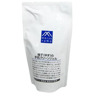 松山油脂 Mマーク 柚子(ゆず)の手肌クリーンジェル 詰替用 220mL|yoka1
