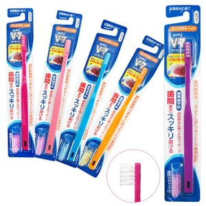 PMJ ブイセブン V-7 つまようじ法歯ブラシ コンパクトヘッド(ふつう) 1本 yoka1