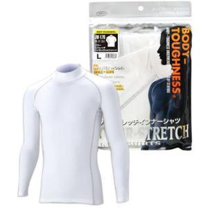 おたふく手袋 BTパワーストレッチハイネックシャツ JW-170 L(ホワイト)|yoka1