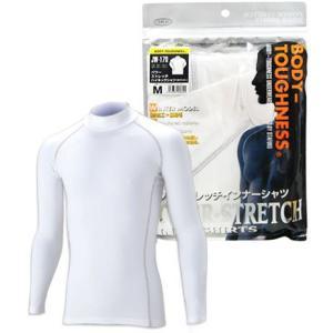 おたふく手袋 BTパワーストレッチハイネックシャツ JW-170 M(ホワイト)|yoka1