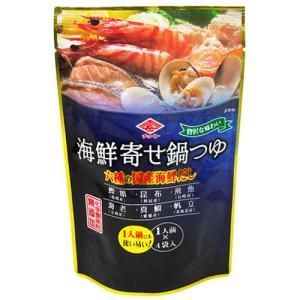 チョーコー醤油 海鮮寄せ鍋つゆ 1人前(30ml)×4袋入 yoka1